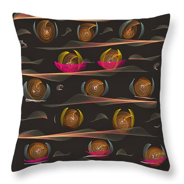 Impatience Throw Pillow by Angela A Stanton