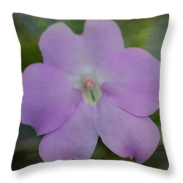 Throw Pillow featuring the photograph Impatiens Dream by Blair Wainman