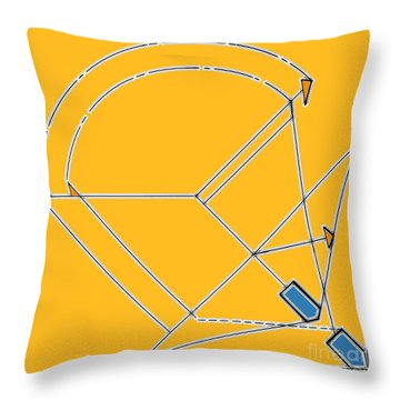 Imperfect  Throw Pillow