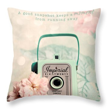 Imperial Six Twenty Throw Pillow by Sylvia Cook