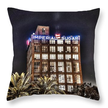 Imperial Sugar Mill Throw Pillow