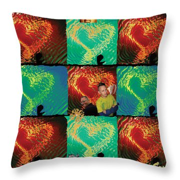 Importance Of Hope Throw Pillow by Feile Case