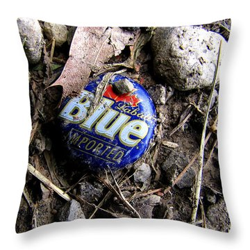 Throw Pillow featuring the photograph Imported by John Freidenberg