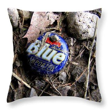 Imported Throw Pillow by John Freidenberg