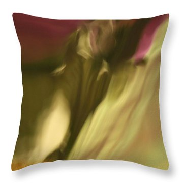 Impression Of A Rose Throw Pillow