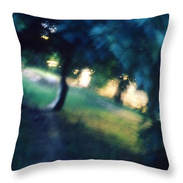 Impression Throw Pillow by Taylan Apukovska
