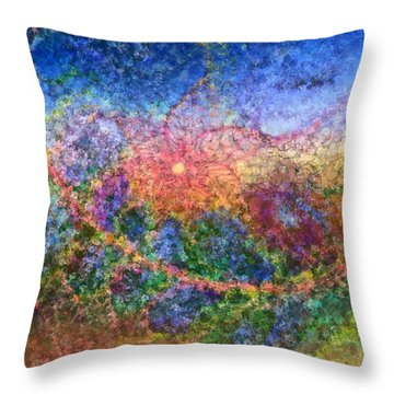 Impressionist Dreams 1 Throw Pillow