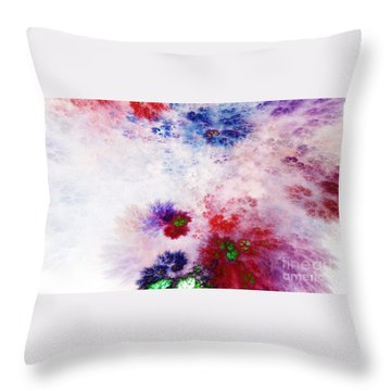 Impressionistic Throw Pillow by Peter R Nicholls