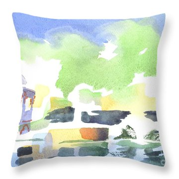 Impressions Throw Pillow by Kip DeVore