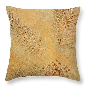 Imprints - Abstract Art By Sharon Cummings Throw Pillow by Sharon Cummings