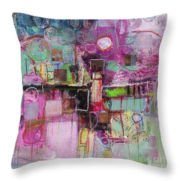 Impromptu Throw Pillow by Michelle Abrams