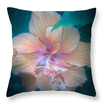 In A Butterfly Garden Throw Pillow