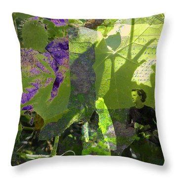 Throw Pillow featuring the digital art In A Dream by Cathy Anderson