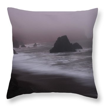 In A Fog Throw Pillow