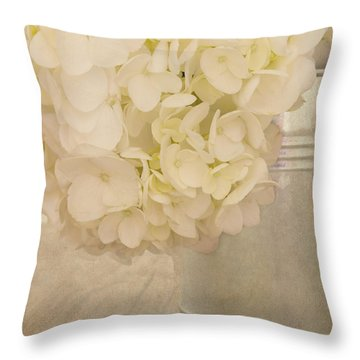 In A Gentle Way Throw Pillow by Kim Hojnacki