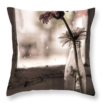 In A Strange Place Throw Pillow