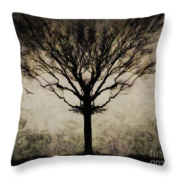 In A Symmetrical World Throw Pillow