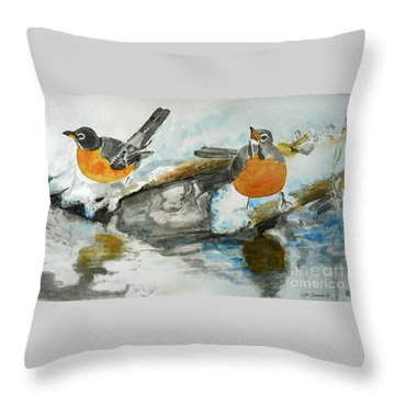 In Anticipation Throw Pillow