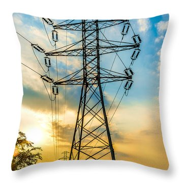 In Chains Throw Pillow