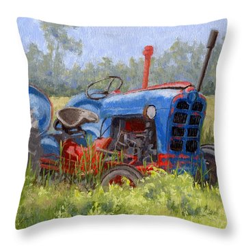 In Da Weeds Throw Pillow