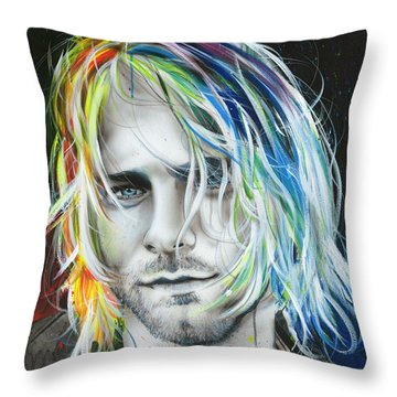 In Debt For My Thirst Throw Pillow
