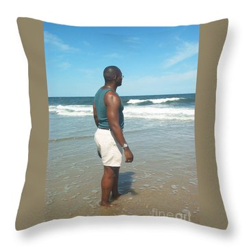 Throw Pillow featuring the photograph In Deep Thought by Emmy Marie Vickers
