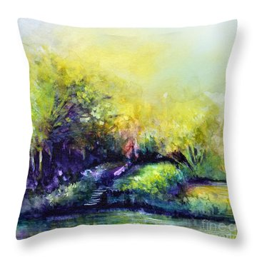 In Dreams Throw Pillow by Allison Ashton
