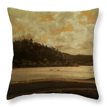 In Dreams I Float Throw Pillow