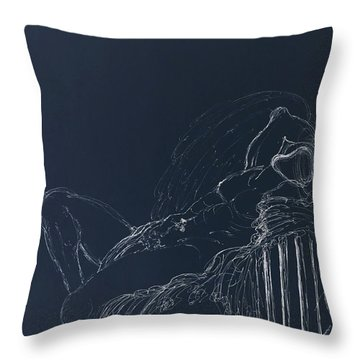 In Dreams II Throw Pillow