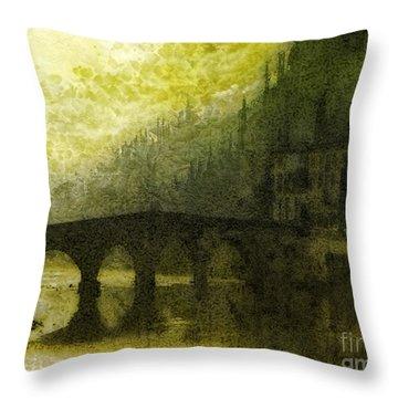 In Fair Verona Throw Pillow by Mo T