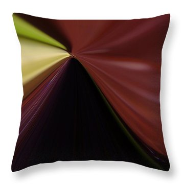 In Fast Flight From A Bugs Eye  Throw Pillow by Jeff Swan