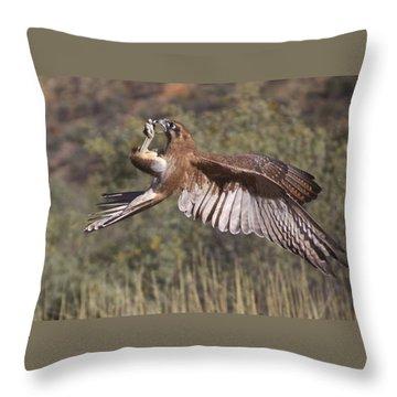 In Flight Meals Throw Pillow