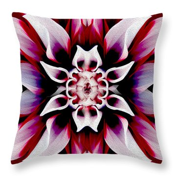 In Full Bloom Throw Pillow by Jon Neidert