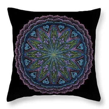 In Full Faith Throw Pillow by Keiko Katsuta