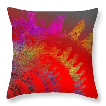 In Gear Throw Pillow by Tim Allen