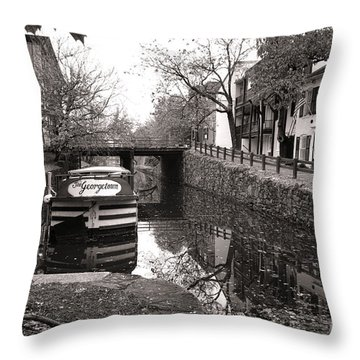 In Georgetown Throw Pillow