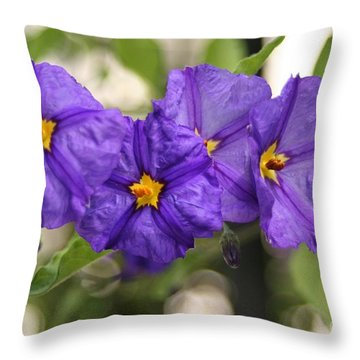 Throw Pillow featuring the photograph In Harmony by Mary Lou Chmura