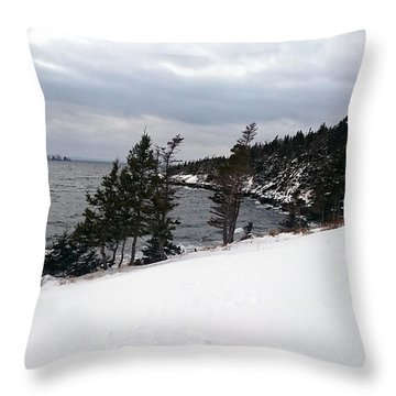 Throw Pillow featuring the photograph In Heart's Delight by Zinvolle Art