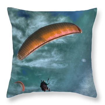 Throw Pillow featuring the photograph In Heaven by Julis Simo