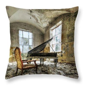 Grand Piano Throw Pillows
