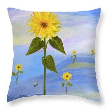 In His Image Throw Pillow