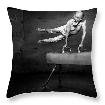 Acrobat Throw Pillows