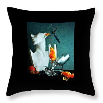 Throw Pillow featuring the photograph In Honor Of Karo by Elf Evans