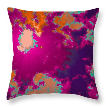 In Hot Pursuit Of Vitamin D Throw Pillow