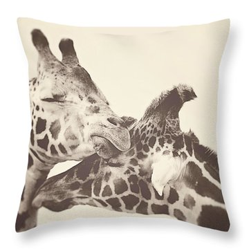 In Love Throw Pillow by Carrie Ann Grippo-Pike