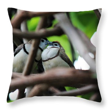 In Love II Throw Pillow
