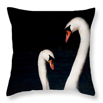 Throw Pillow featuring the photograph In Love by Laura Melis
