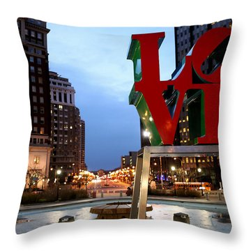 Throw Pillow featuring the photograph In Love We Trust by Dorin Adrian Berbier