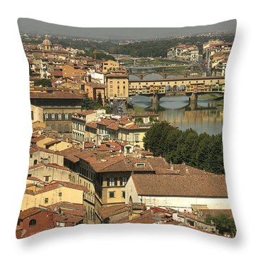 In Love With Firenze - 1 Throw Pillow