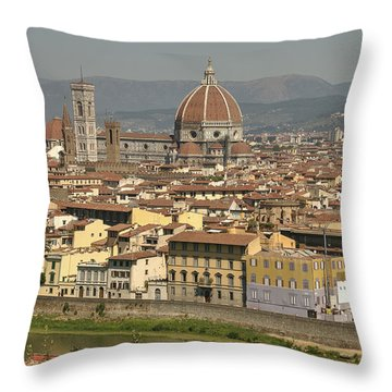 In Love With Firenze - 2 Throw Pillow